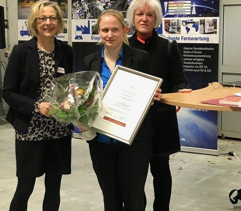 Verleihung des Zonta-Preis an Dr. Dorit Borrmann am 13.3.2019