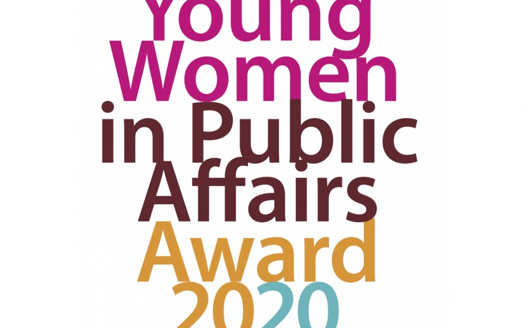 Young Woman in Public Affairs-Award 2020